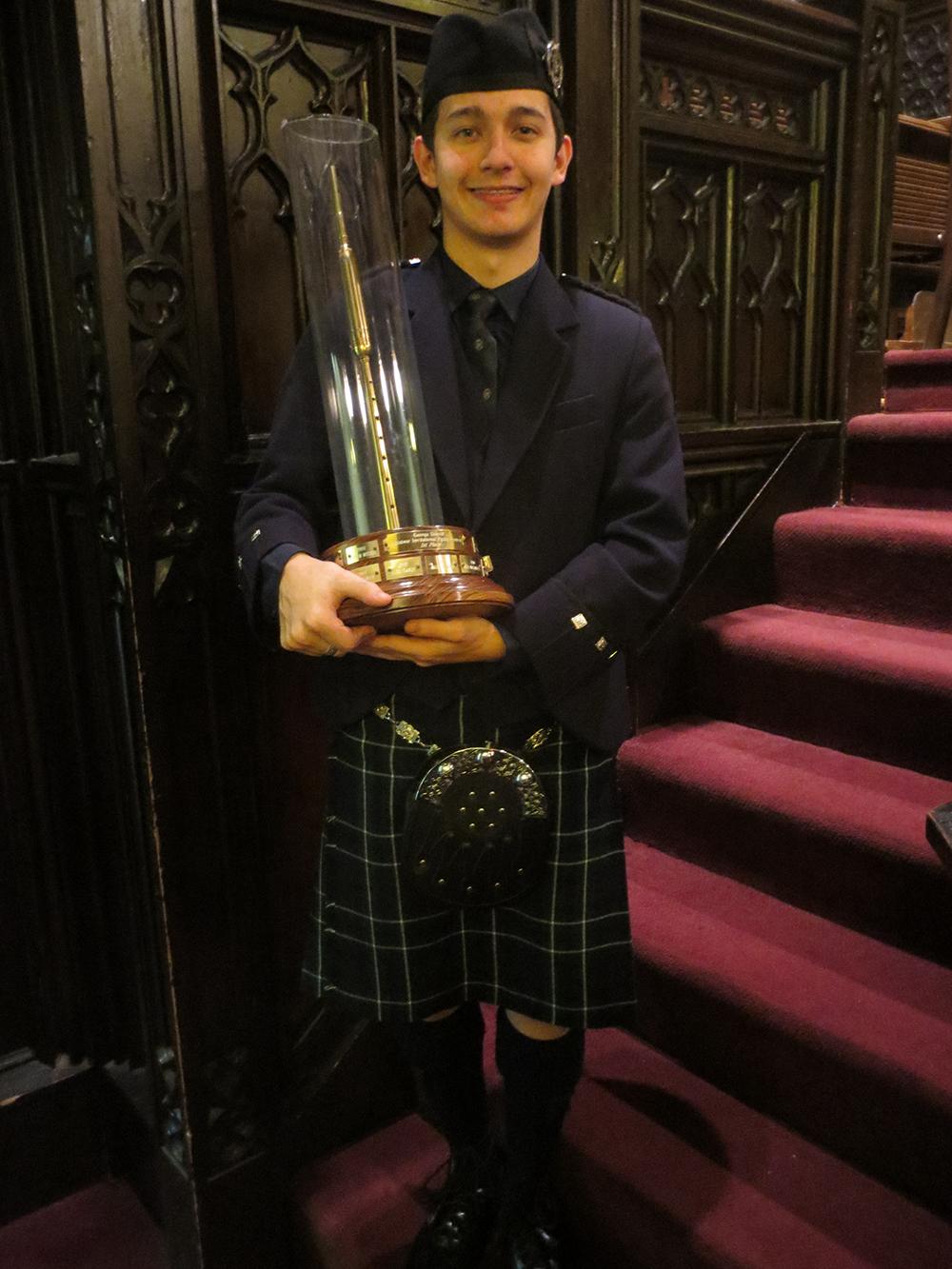 2013 Winner Aaron Stone